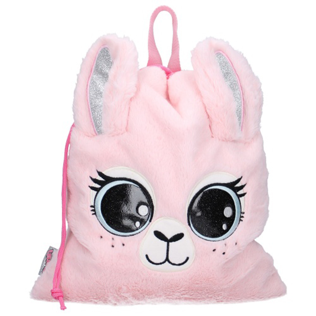 Sac de gym \'Lama Mania\' rose (Lulupop & the Cutiepies) - 44x37 cm - [Q9751]