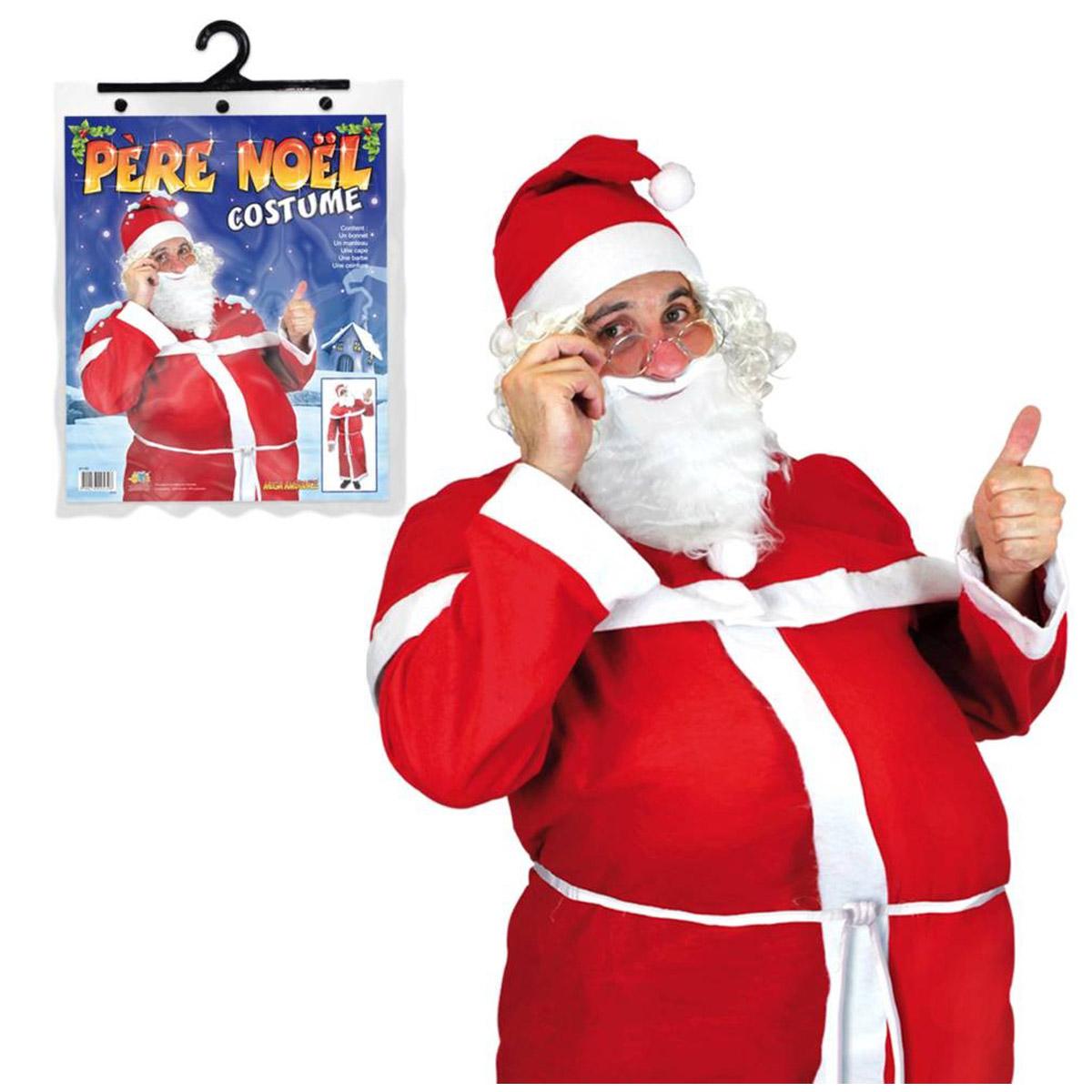 Déguisement \'Père Noël\' rouge - [Q3523]