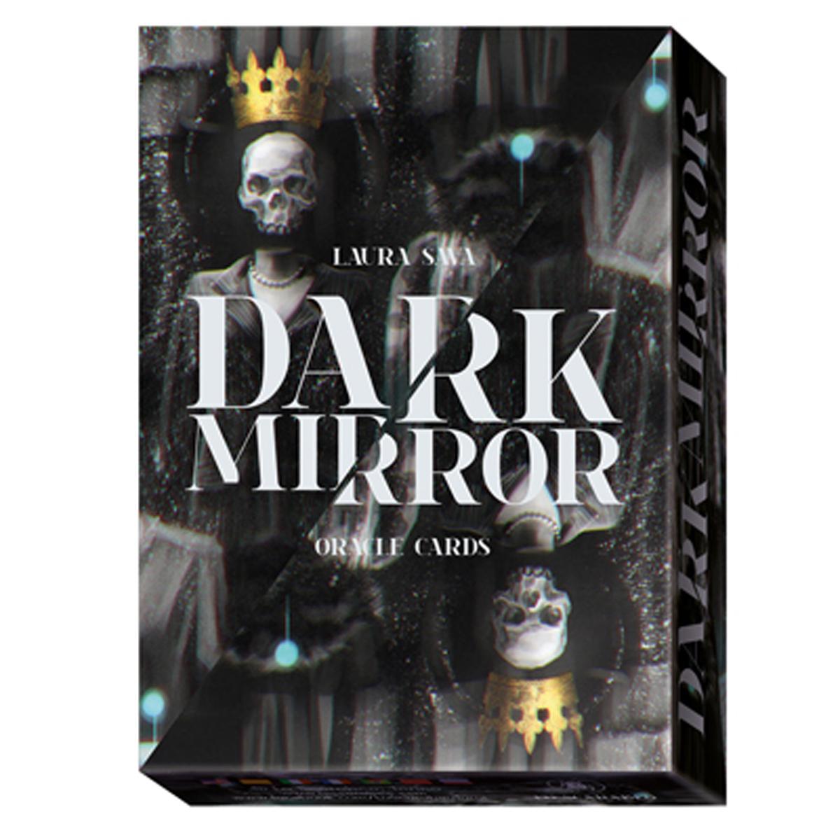 Jeu de cartes d\'inspiration \'Dark Mirror\' (oracles) - 135x10x3 cm - [A1006]