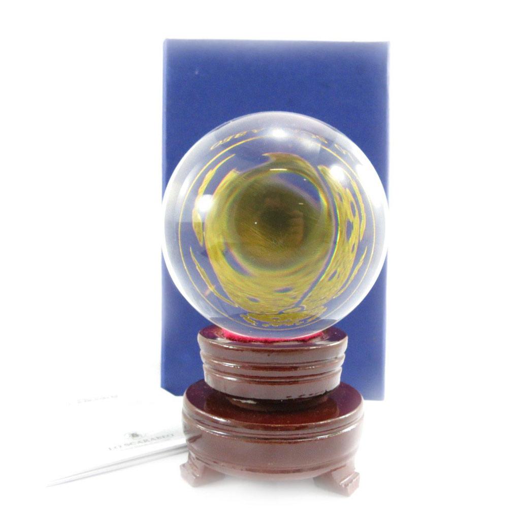 Boule de cristal \'Oracle\' - 6 cm - [J5468]