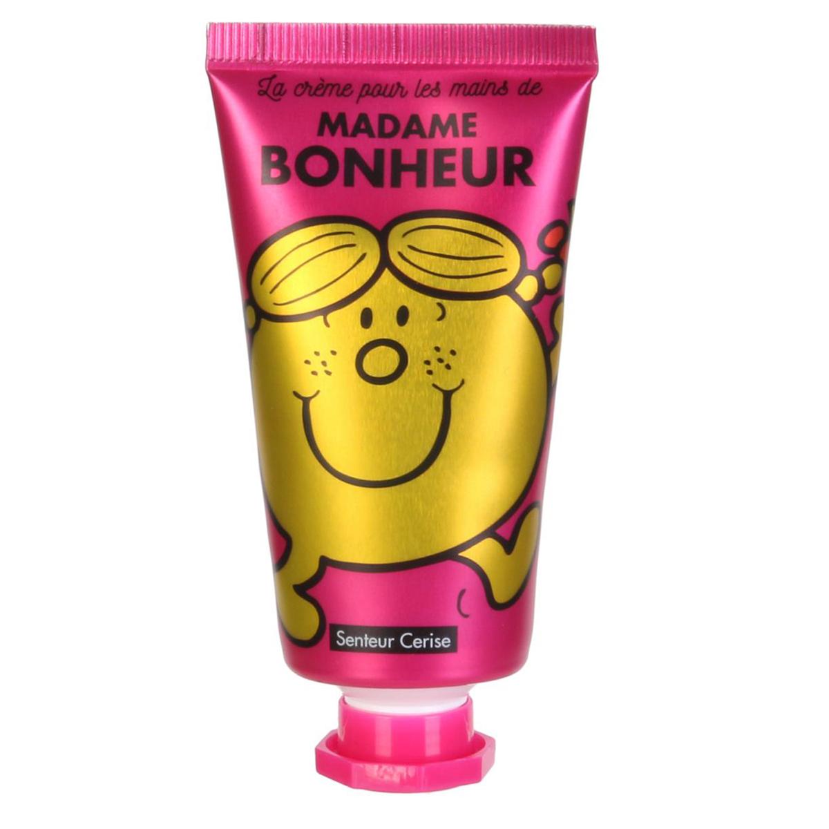 Crème pour les mains \'Monsieur Madame\' (Bonheur - Cerise) - 8x3 cm, 30 ml - [A0550]