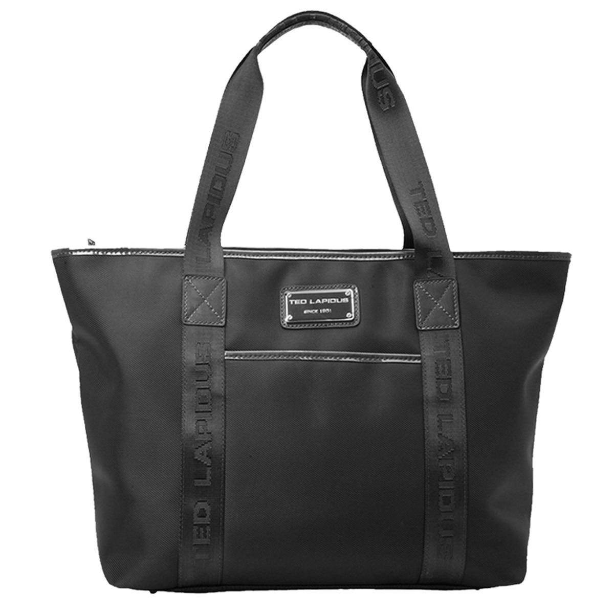 Sac shopping \'Ted lapidus\' noir - 47x28x16 cm - [G8562]