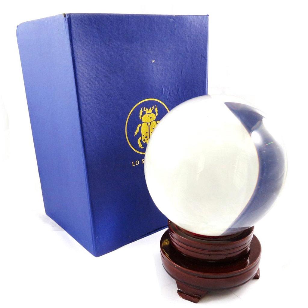 Boule de cristal \'Oracle\' - 15 cm - [J5065]