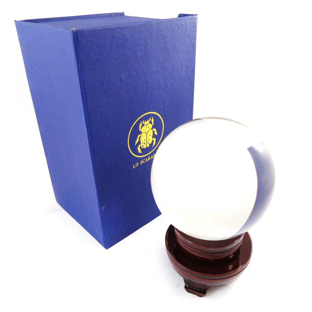 Boule de cristal \'Oracle\' - 10 cm - [J5066]