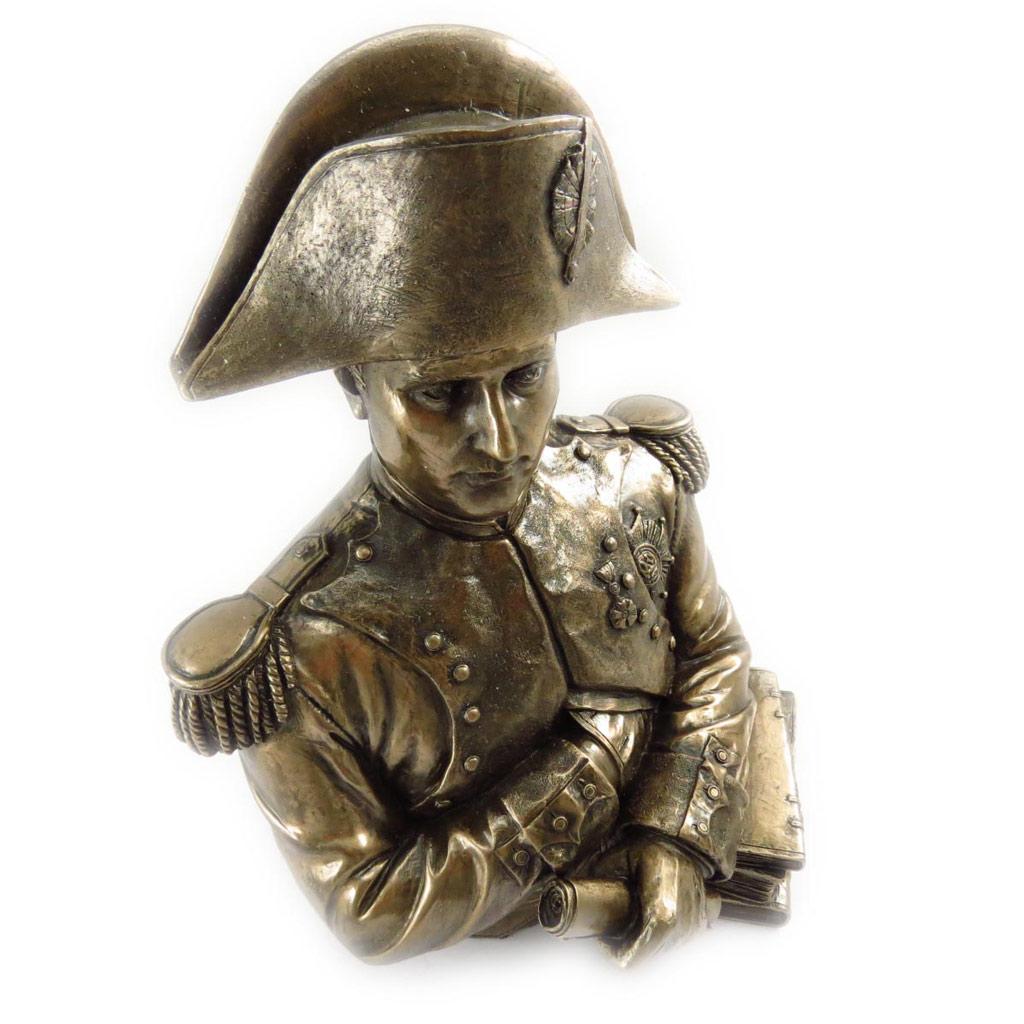 Figurine \'Buste de Napoléon\' bronze - 25x18x14 cm - [J6420]