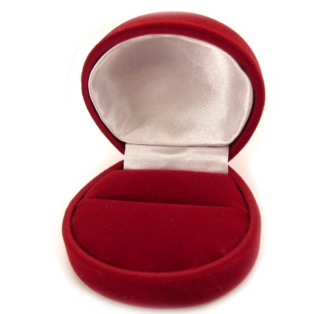 Ecrin Bague Velours rouge - [L1085]