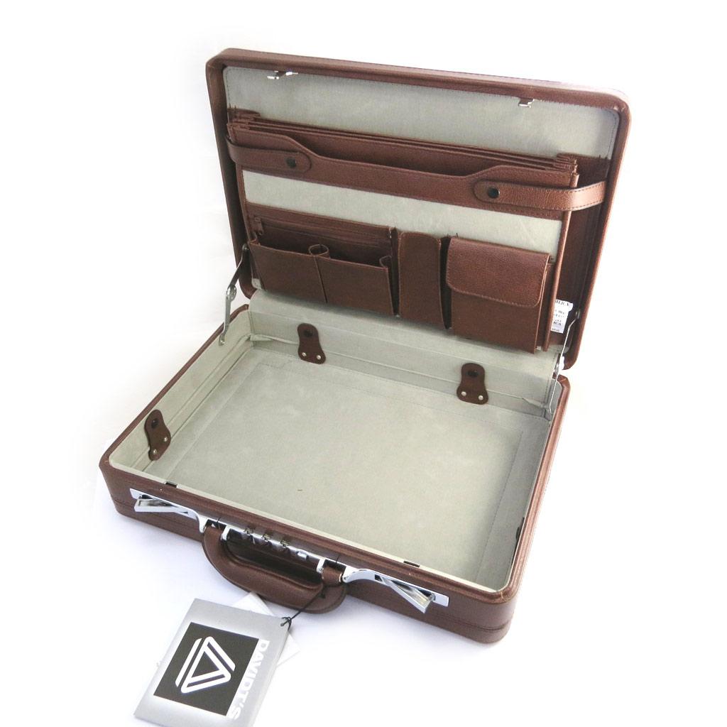 Attaché case \'Manhattan\' marron - 46x36x12 cm - [M1601]
