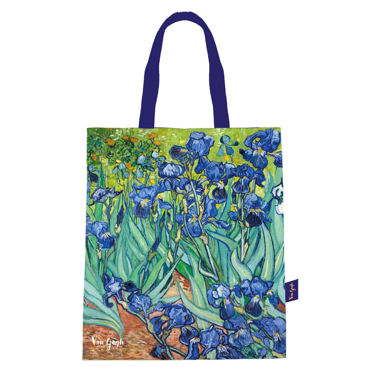 Sac coton / tote bag \'Vincent Van Gogh\' (Iris) - 44x38 cm - [Q9250]