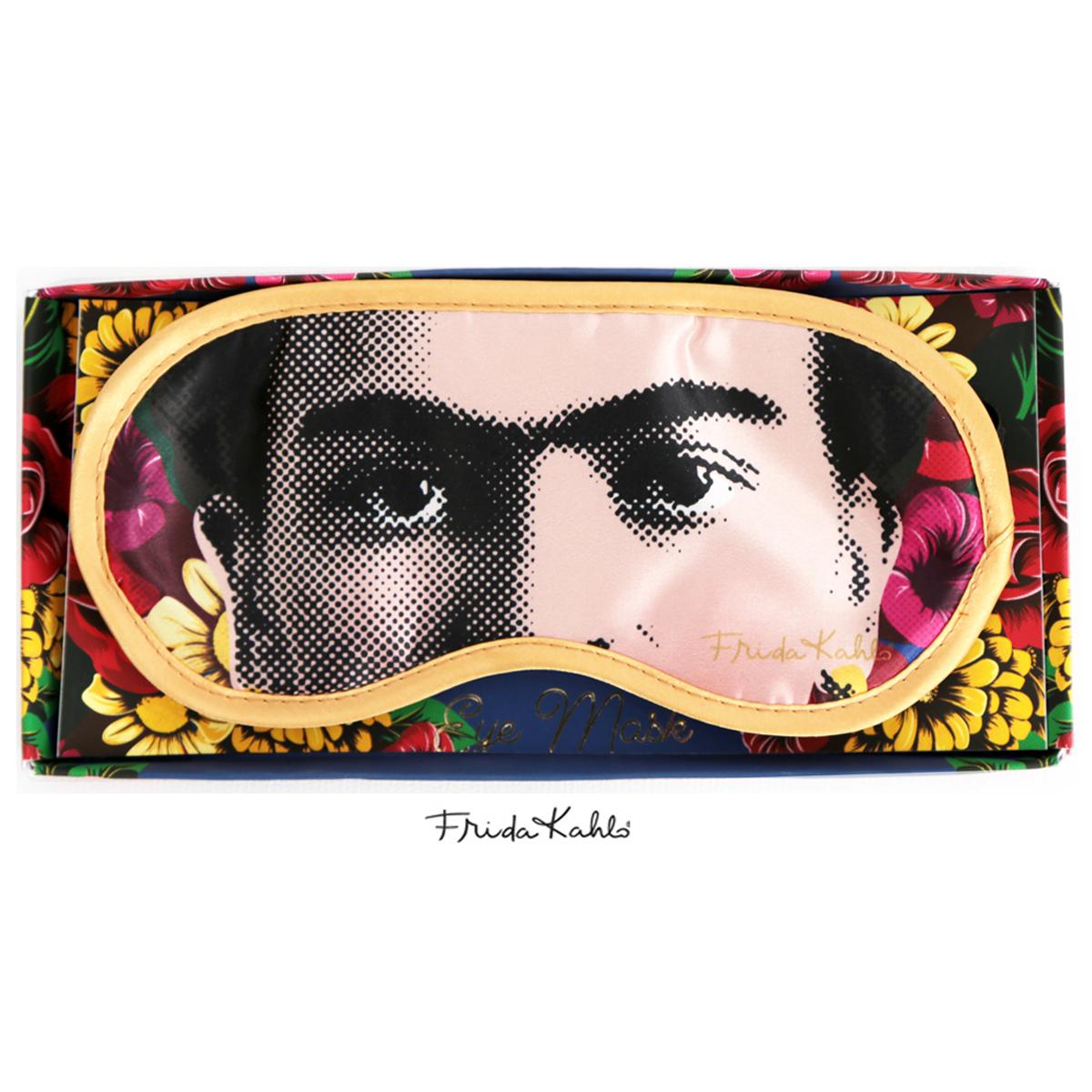 Masque de voyage \'Frida Kahlo\' multicolore - 19x95 cm - [R0910]
