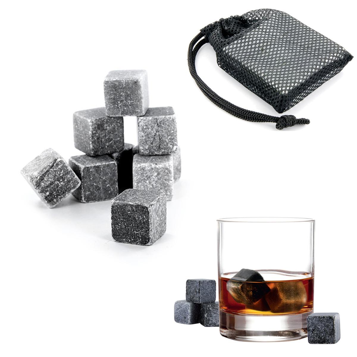 9 pierres à \'Whisky\' gris - [A1464]
