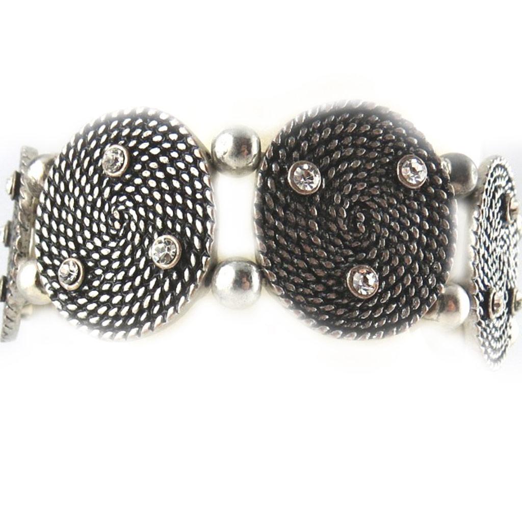 Bracelet Créateur \'Neolys\' blanc/Blanc  - [E0363]