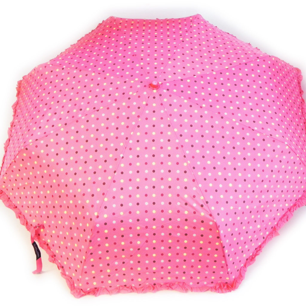 Parapluie \'Happy Days\' fushia - [H0566]