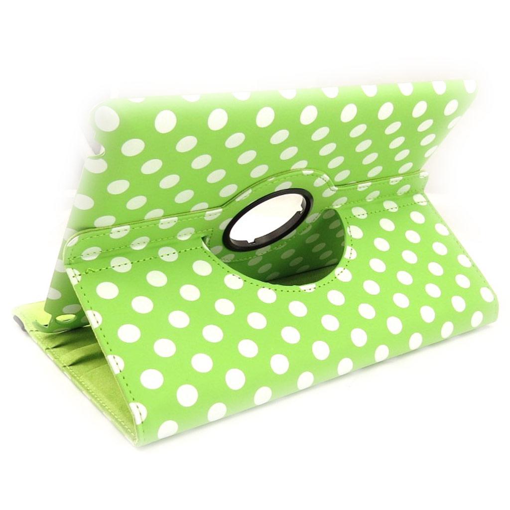 Coque Ipad \'Petits Pois\' vert pomme (97\') - [K8187]