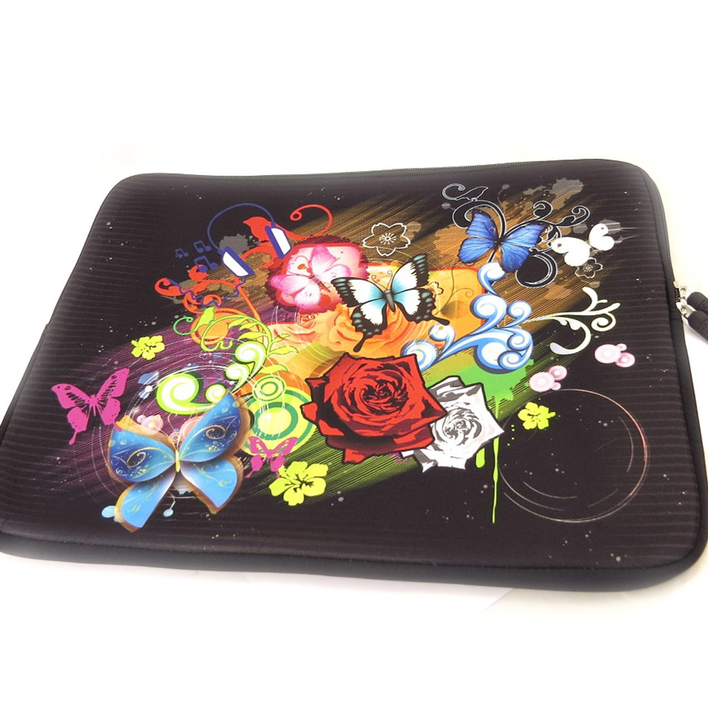 Housse ordinateur portable \'Floralies\' néoprène (15\') - [K8202]