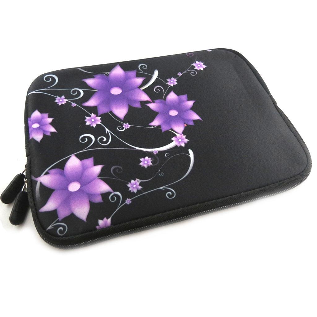 Housse tablette \'Floralies\' néoprène (7\') - [K8209]