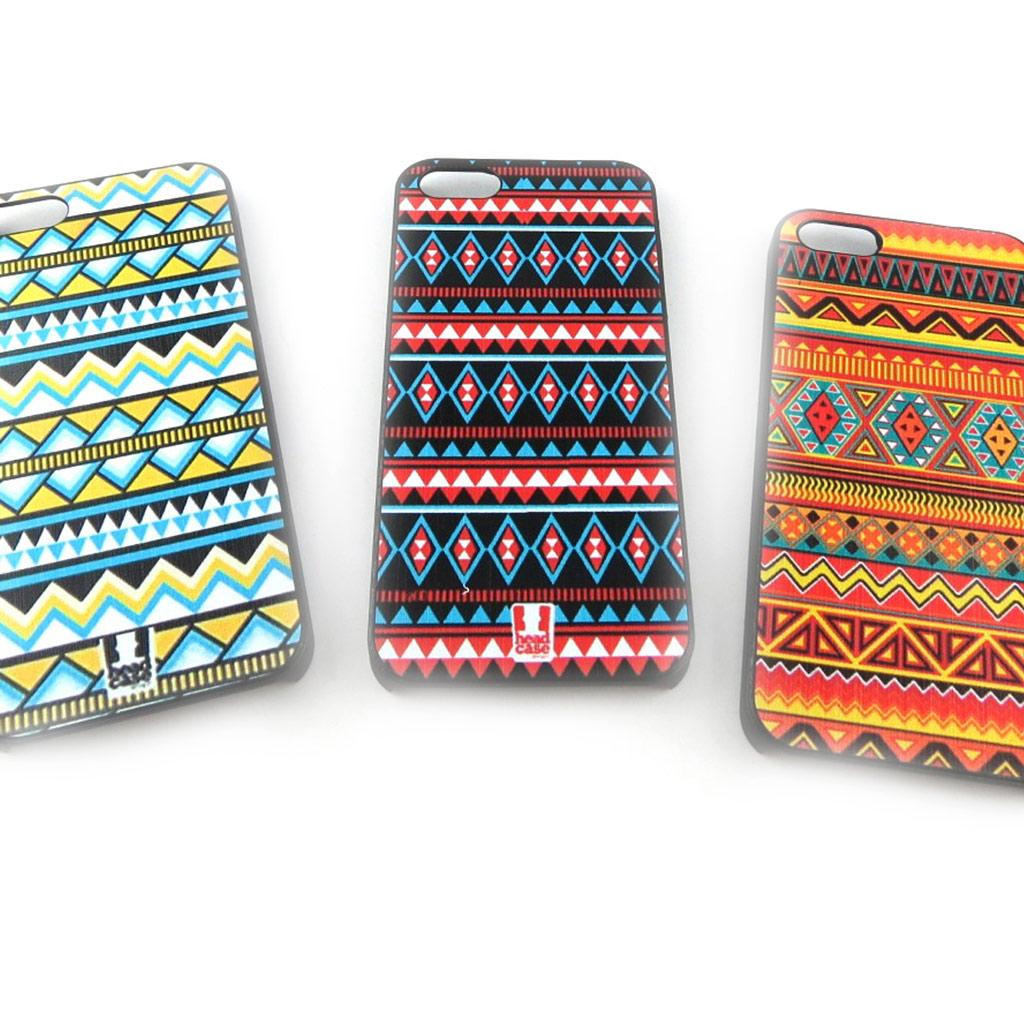 3 coques créateur \'Maya\' Iphone 5  - [K8518]