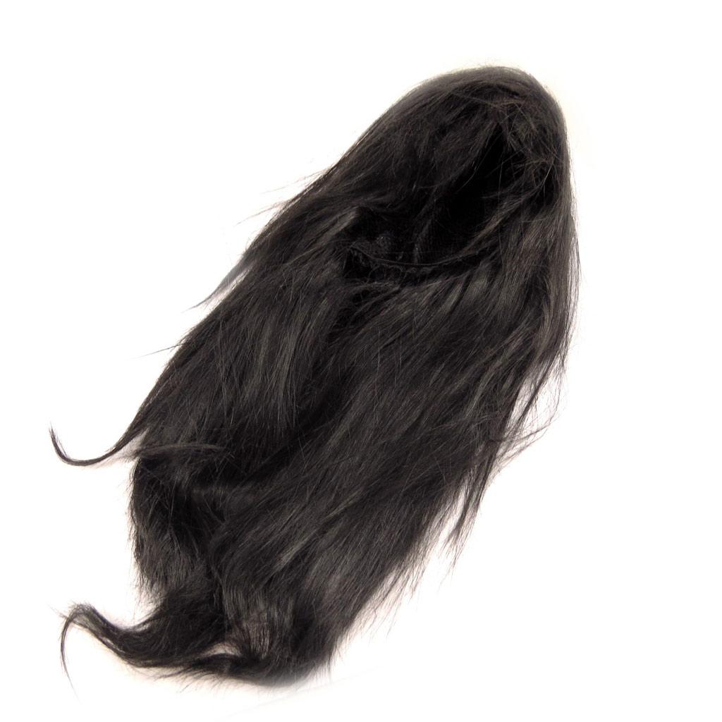 Perruque \'Pygmalion\' noir (45 cm) - [K9062]