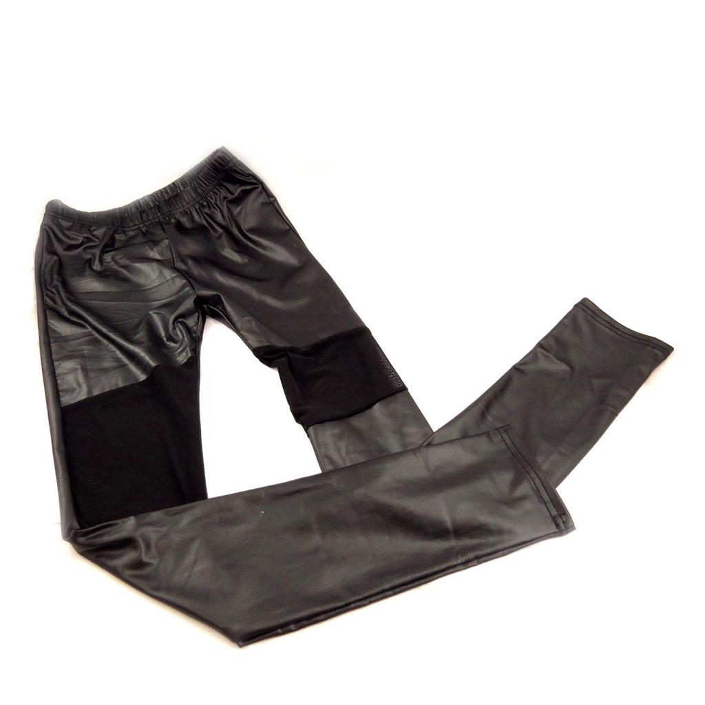 Pantalon \'Indispensable\' noir brillant - [L0701]