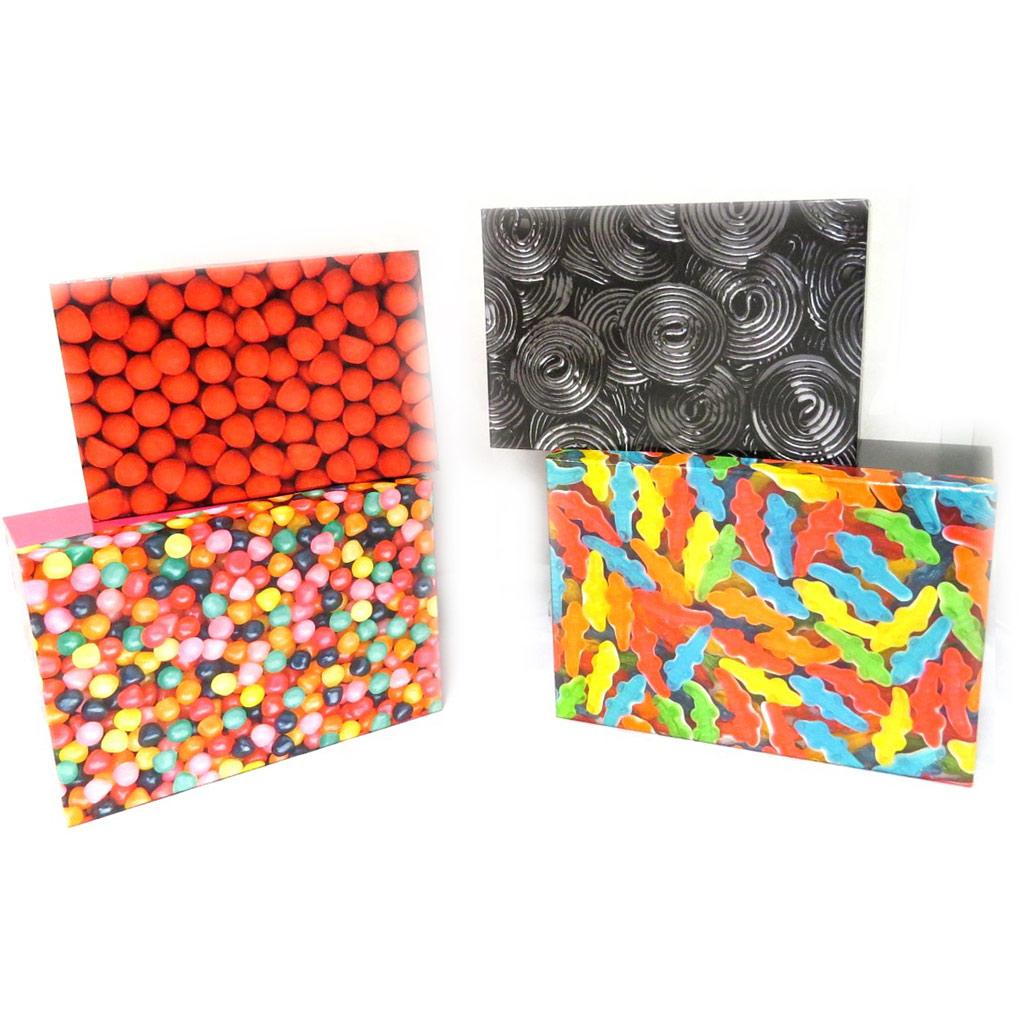 Set de 4 boîtes de rangement \'Haribo\' multicolore - [L8807]