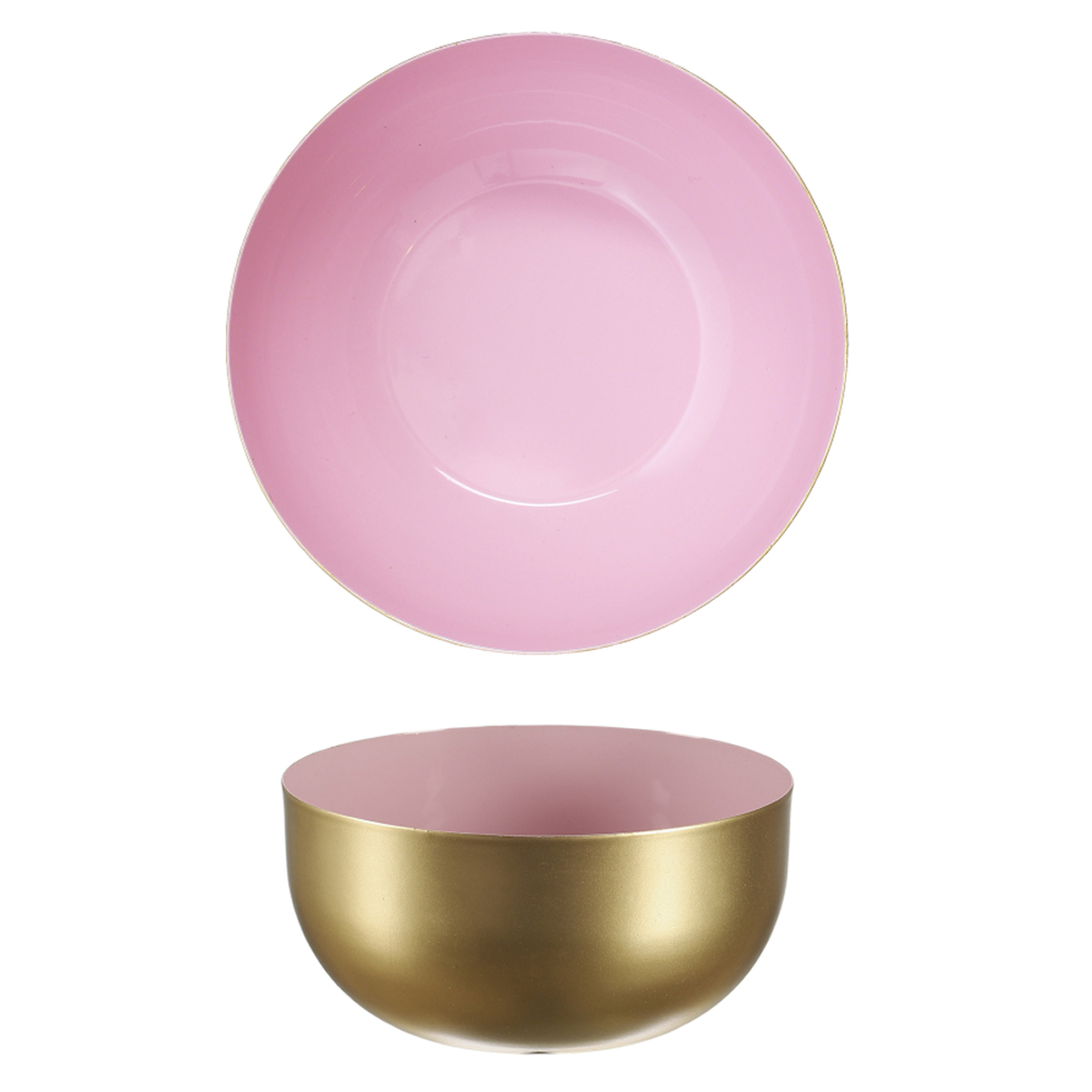 Coupelle métal \'Boho\' rose doré - 12x6 cm - [A1713]