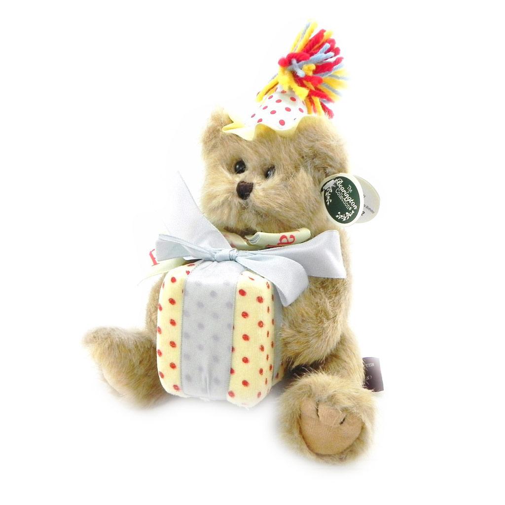 Peluche \'Happy Birthday\' tutti frutti - 25 cm  - [I6492]
