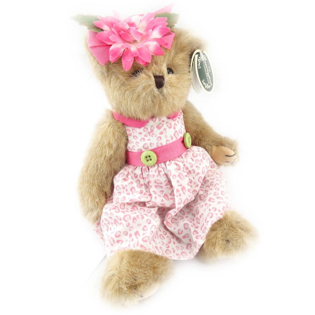 Peluche créateur \'Teddy Bear\' rose - 25 cm - [K1290]