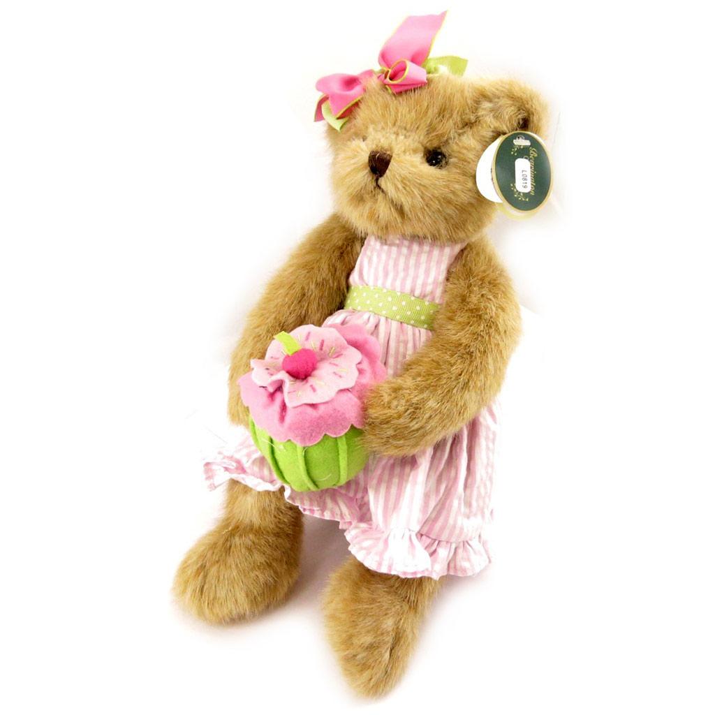 Peluche créateur \'Teddy Bear\' rose - 35 cm - [L0819]