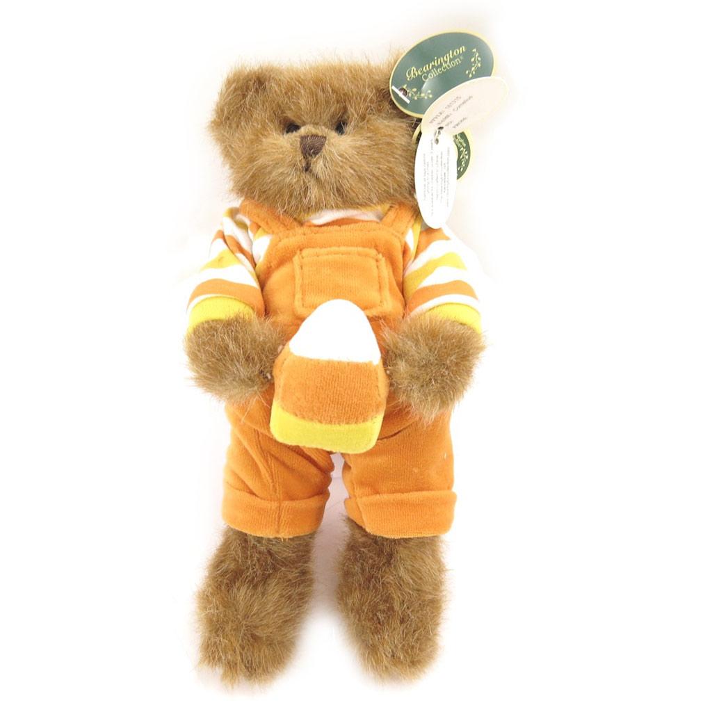Peluche créateur \'Teddy Bear\' orange - 25 cm - [L0820]