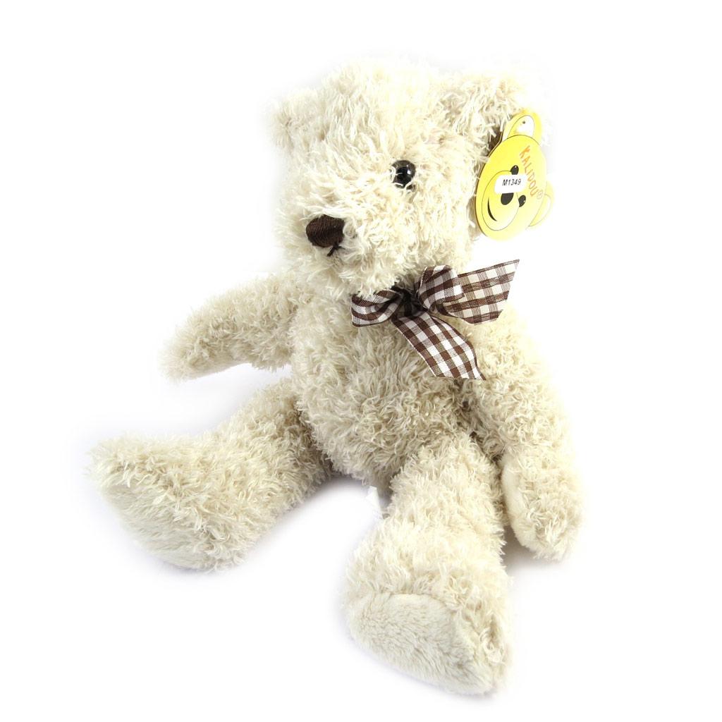Peluche design \'Teddy Bear\' beige (28 cm) - [M1349]
