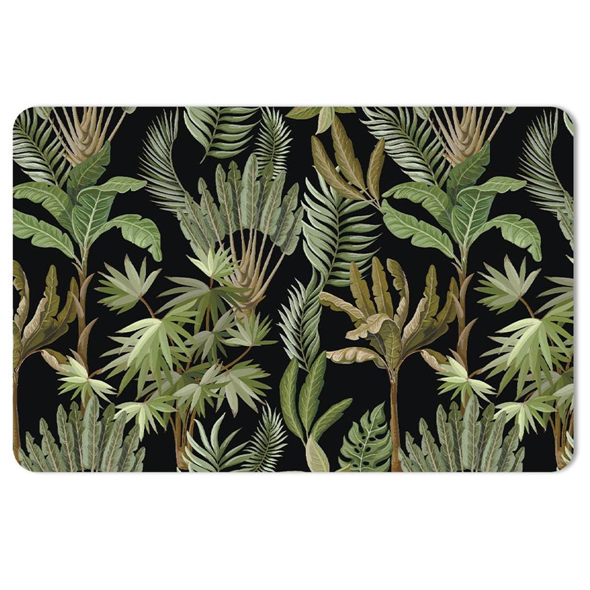 Set de table \'Jungle\' vert noir - 43x28 cm - [A1902]