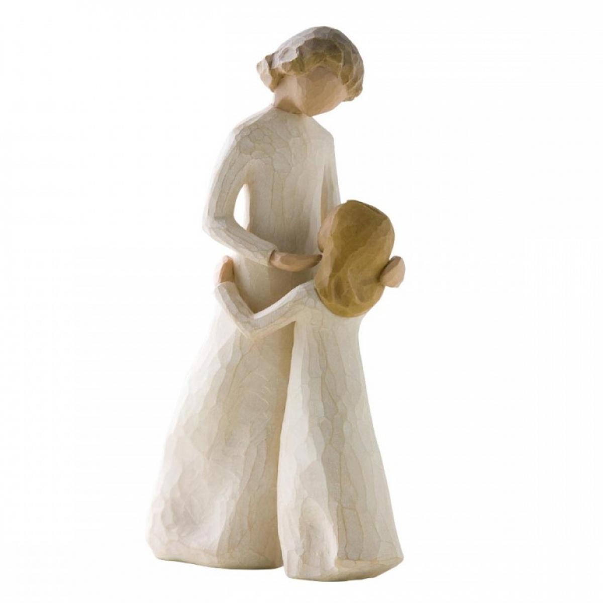 Figurine résine \'Willow Tree\' (mère et fille) - 26x16x10 - [A1950]