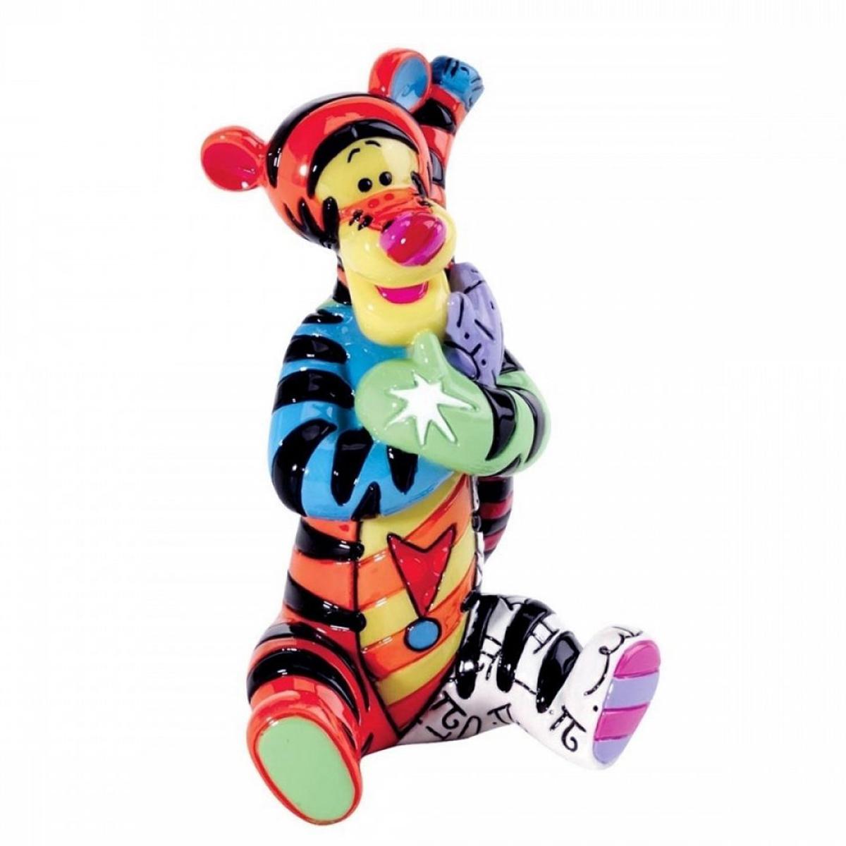 Figurine créateur \'Tigrou\' multicolore (Britto) - 75 mm - [A1970]