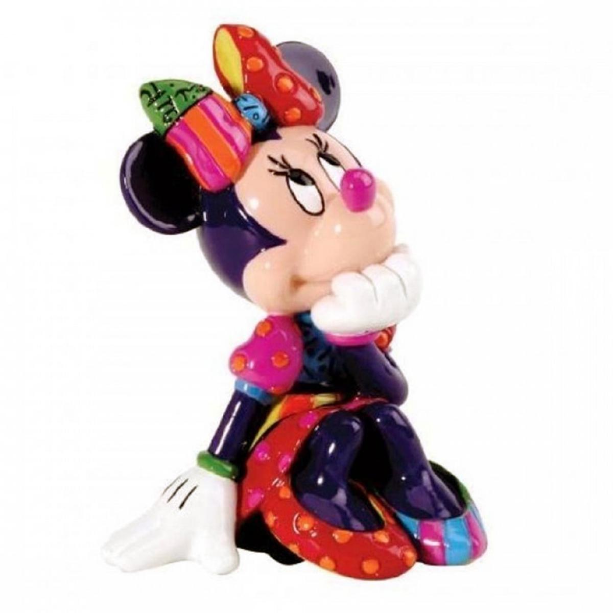 Figurine créateur \'Minnie\' multicolore (Britto) - 70x50 mm - [A1971]