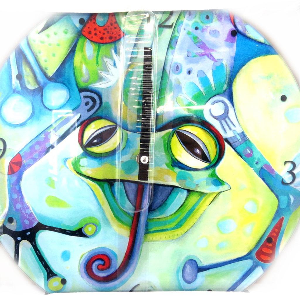 Horloge Murale \'Allen Designs\' grenouille (30 cm) - [M3795]