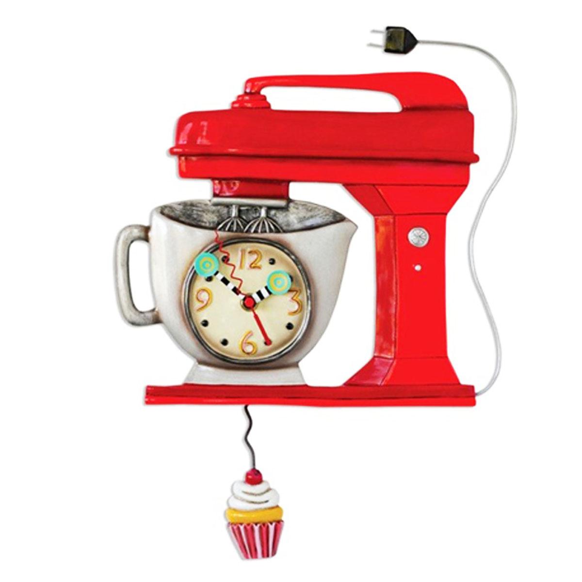 Horloge Murale \'Allen Designs\' robot de cuisine (40x25 cm) - [M4886]