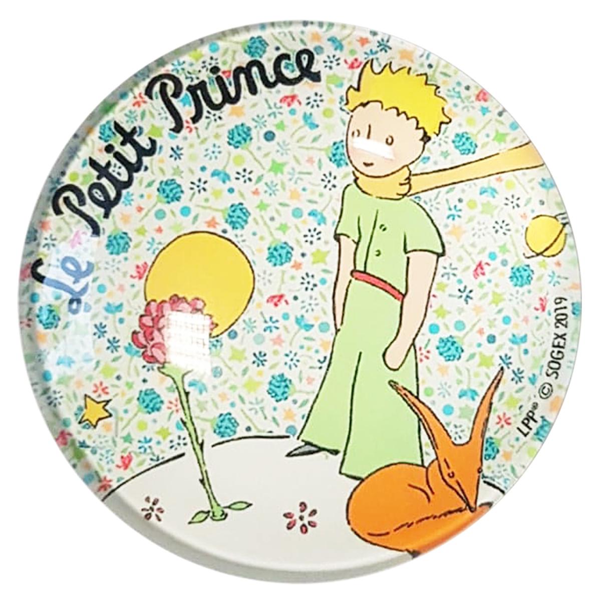 Magnet verre \'Le Petit Prince\' multicolore - 5 cm - [Q9026]