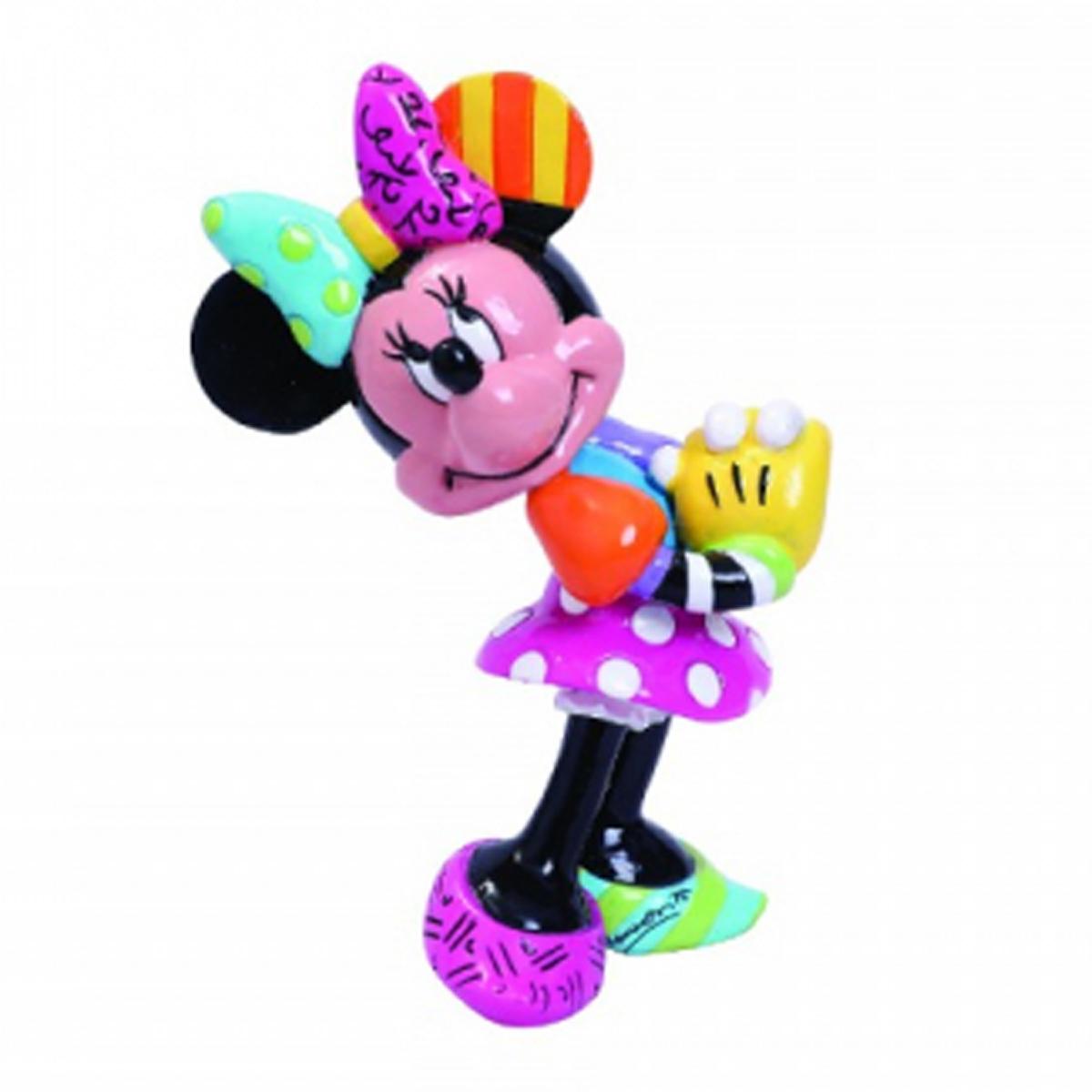 Figurine créateur \'Minnie\' multicolore (Britto) - 80x55 mm - [R2032]