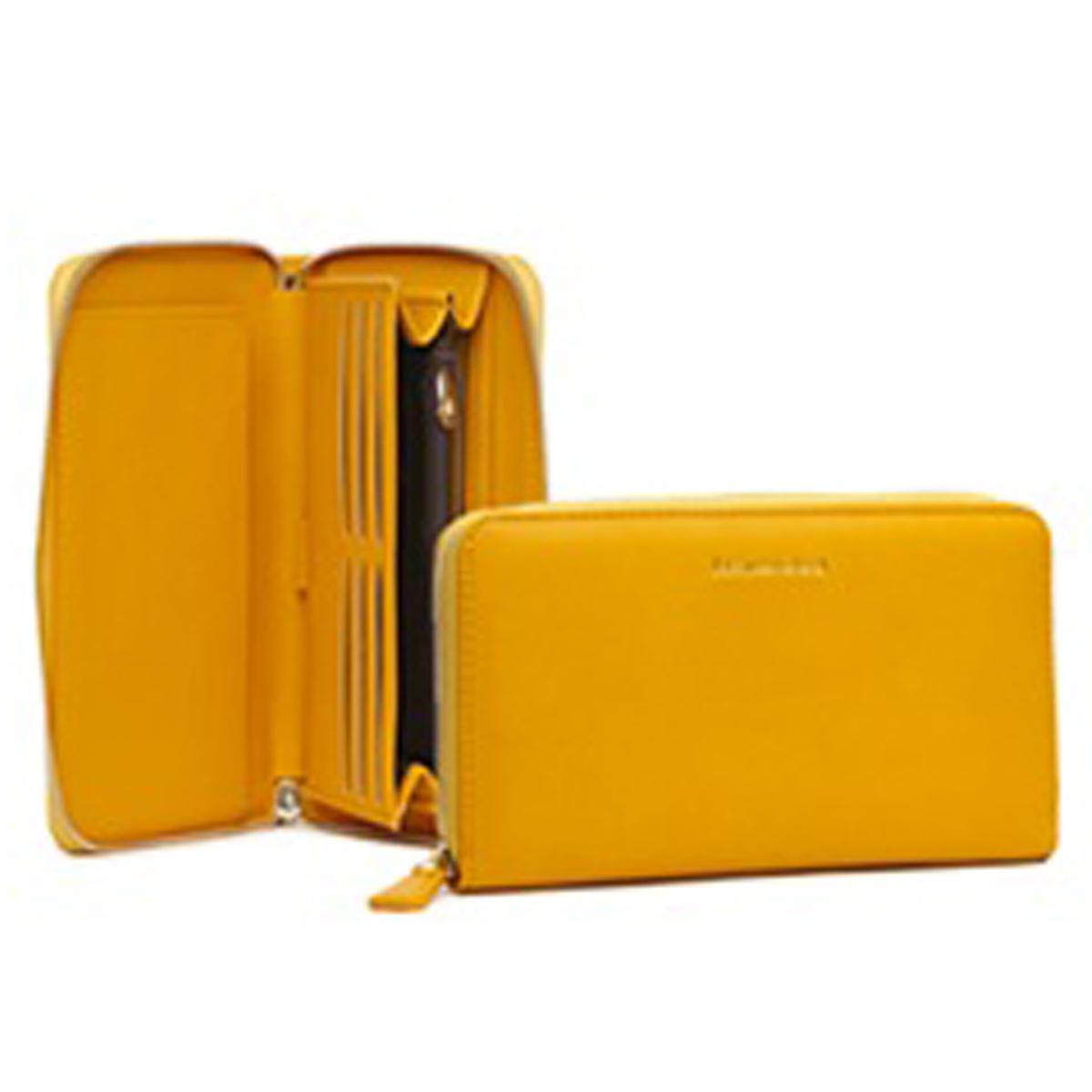 Compagnon zippé \'Jacques Esterel\' jaune - 21x10x25 cm - [Q2160]