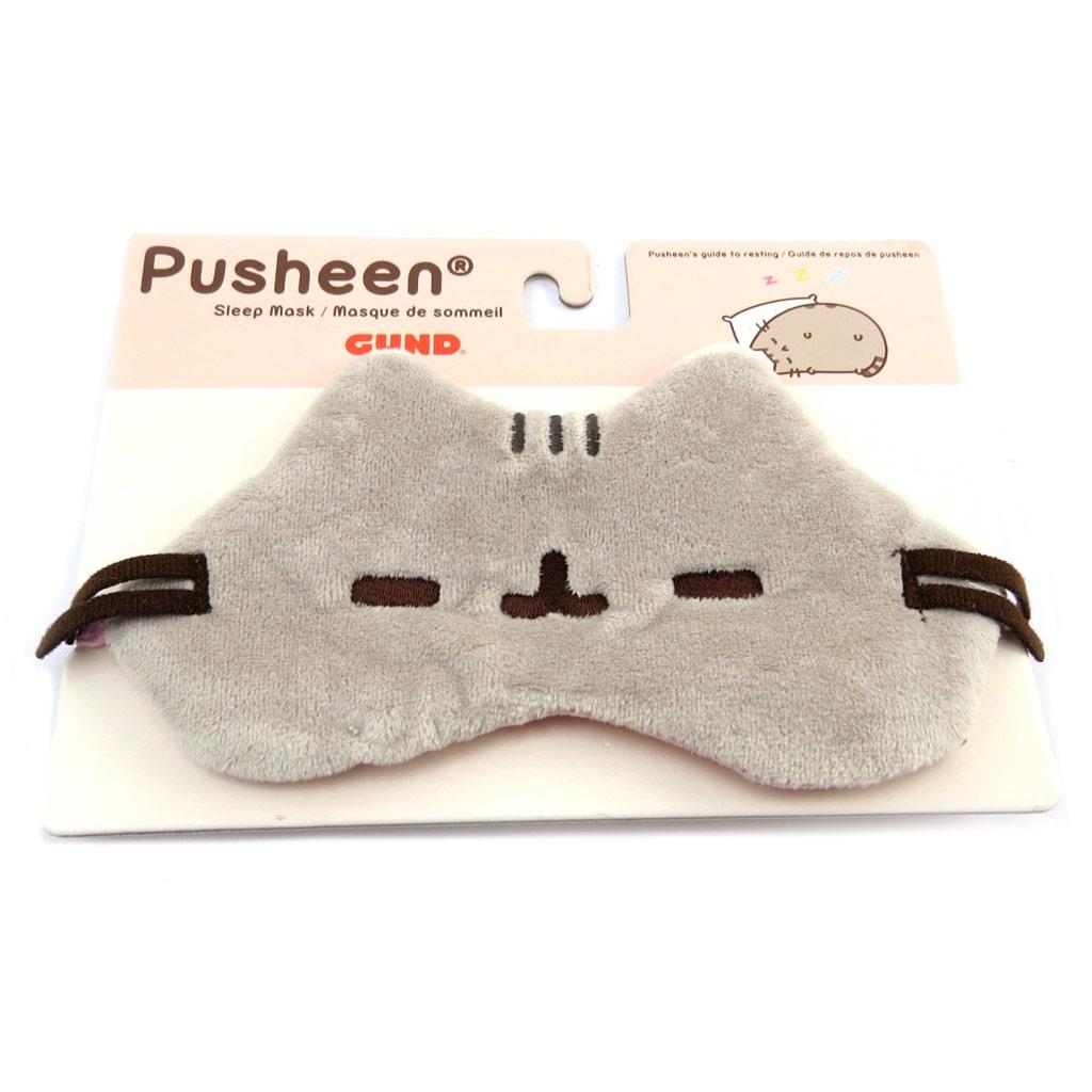 Masque de sommeil \'Pusheen\' gris - 175x95 cm - [P8887]