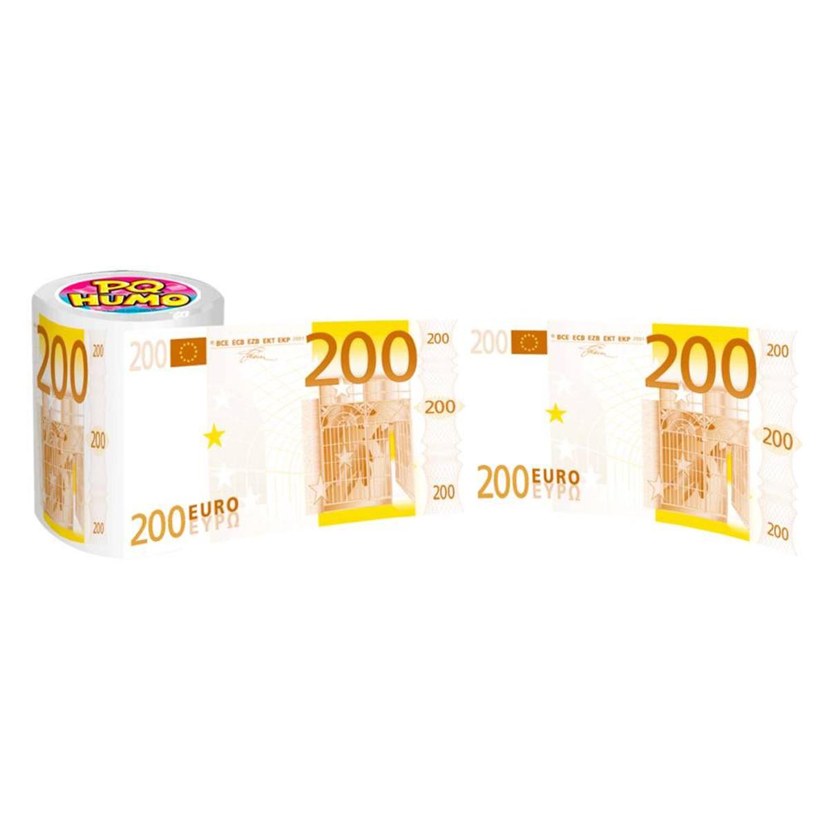 Rouleau WC \'200 euros\'  - [I6216]