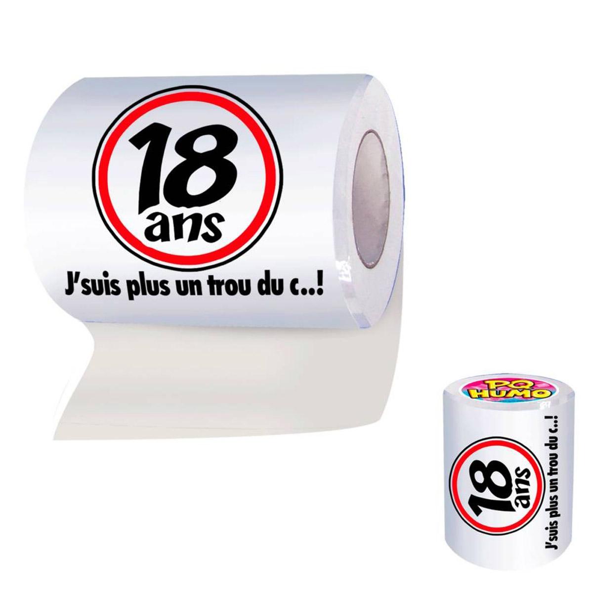 Rouleau WC \'18 ans\'  - [H6864]