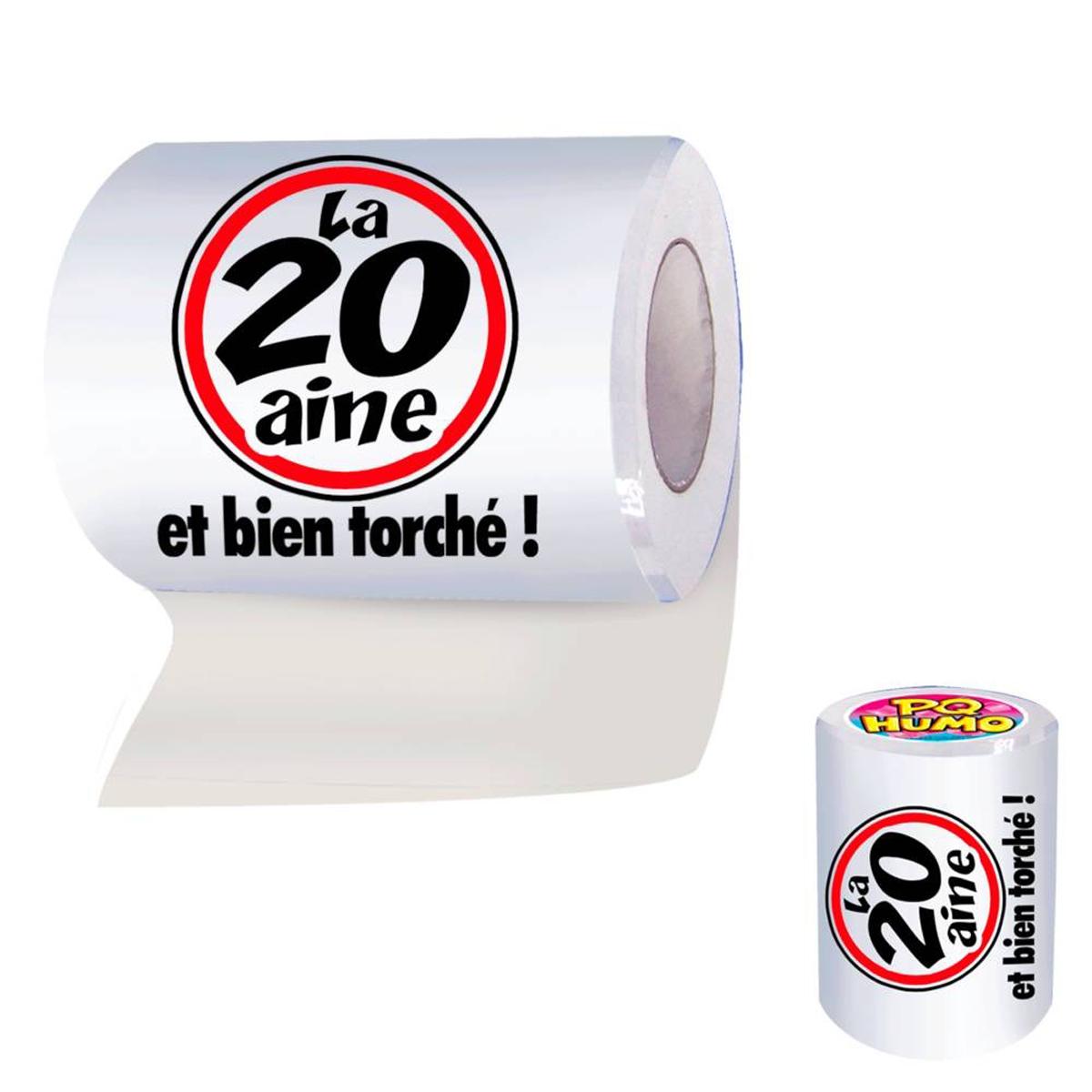 Rouleau WC \'20 ans\'  - [H7072]