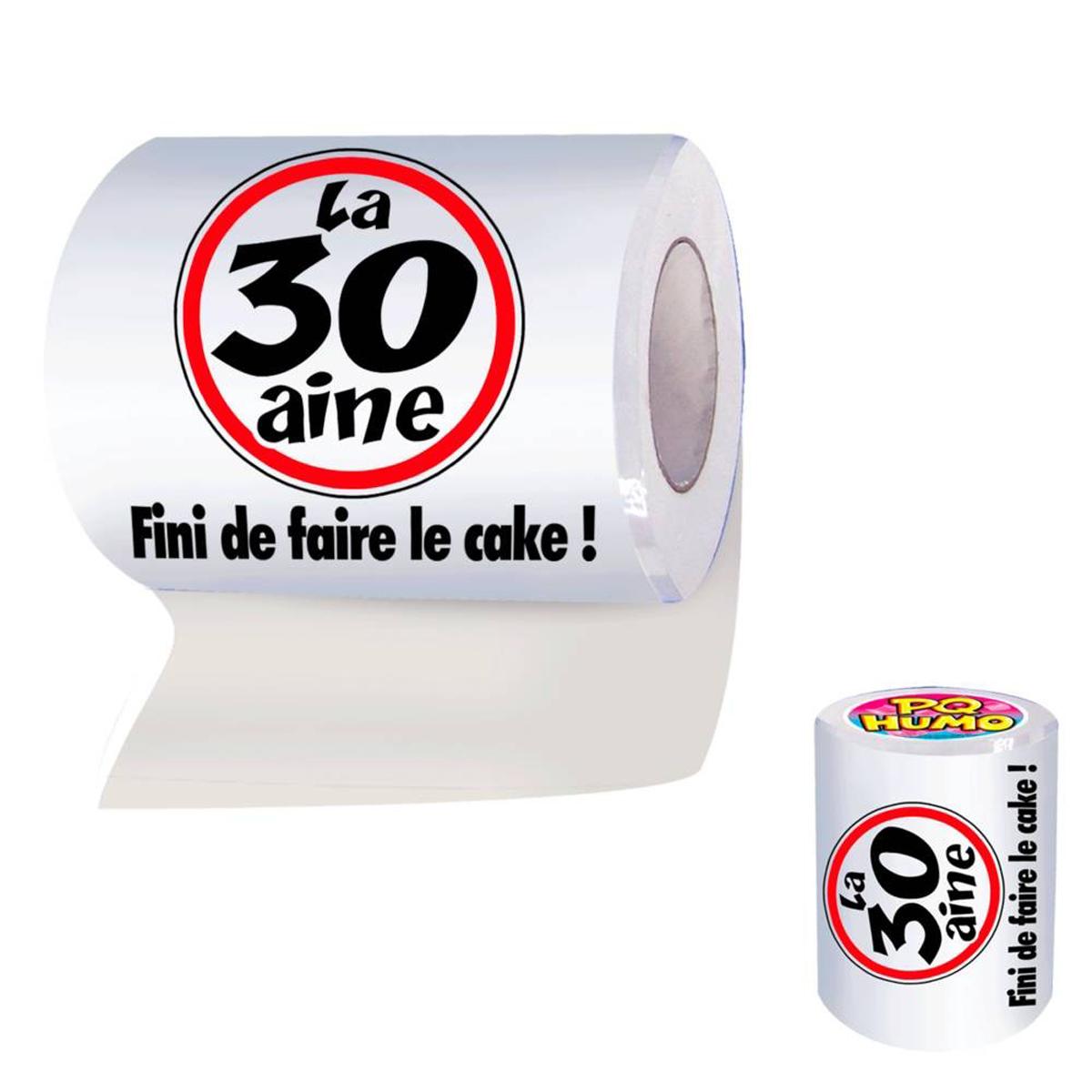 Rouleau WC \'30 ans\'  - [H7073]