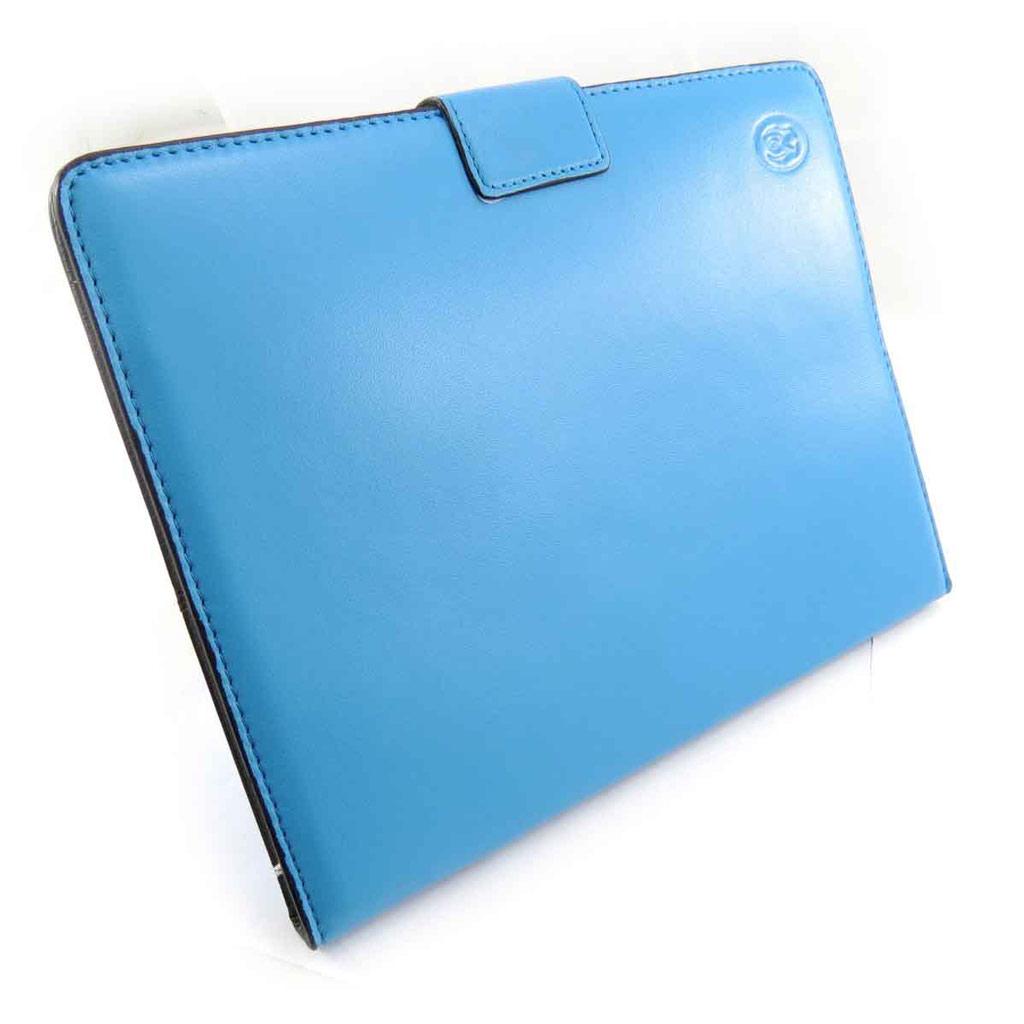 Etui tablette \'Lafayette\' turquoise - 24x19 cm - [J6569]
