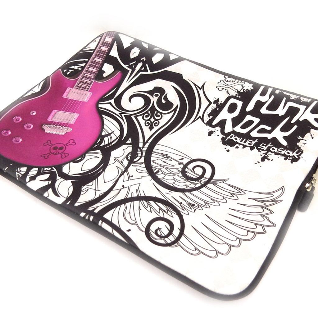 Housse ordinateur portable \'Punk Rock\' néoprène (15\') - [K8200]