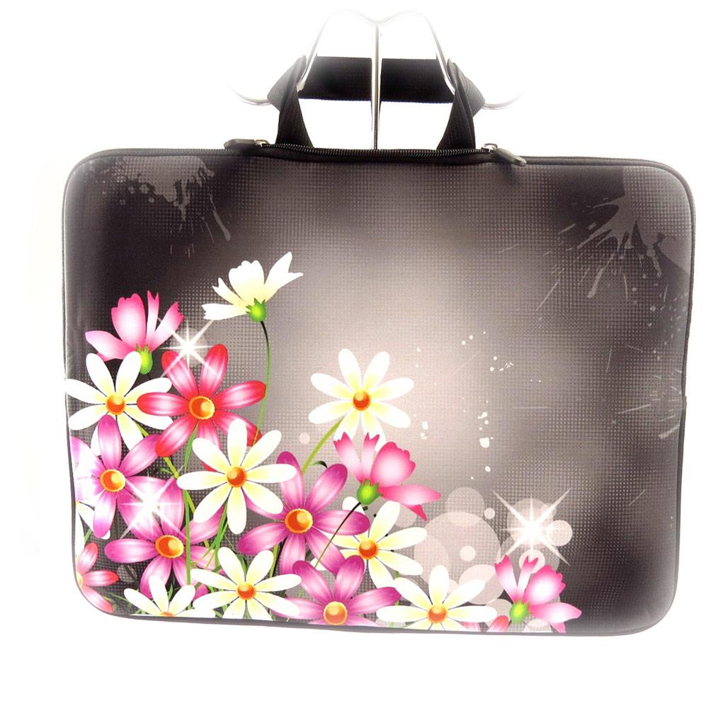 Serviette ordinateur portable \'Floralies\' néoprène (15\') - [K8203]
