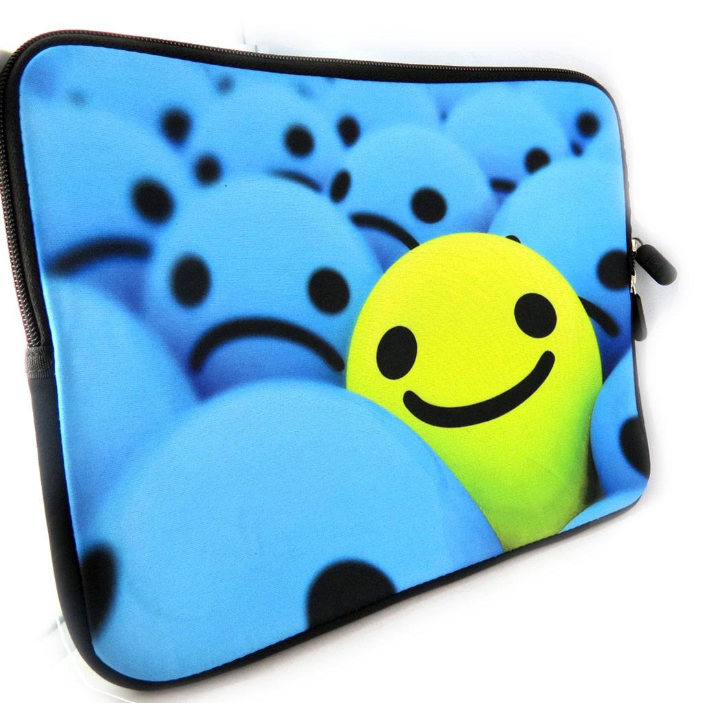 Housse tablette \'Smiley\' néoprène (10\') - [K8233]