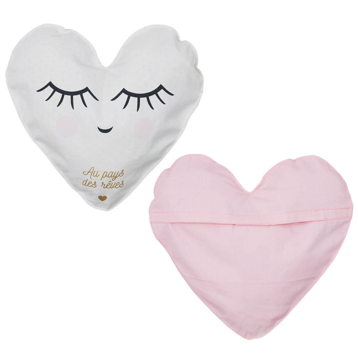 Range pyjama coton \'Coeur\' (au pays des rêves) - 30 cm - [A2270]