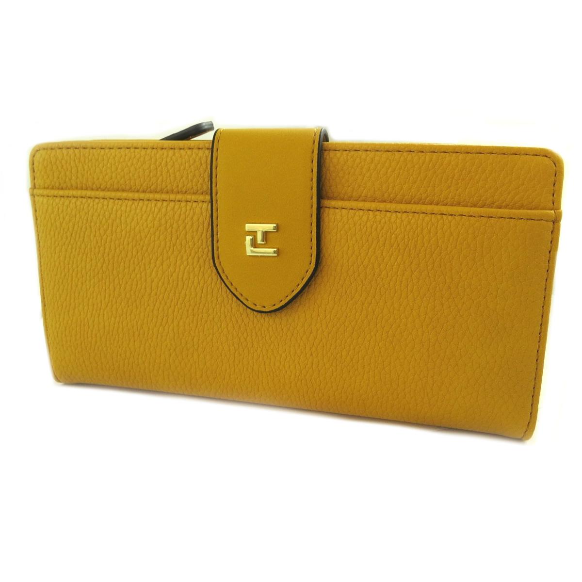 Compagnon \'Ted Lapidus\' jaune moutarde - 205x12x3 cm - [Q2237]