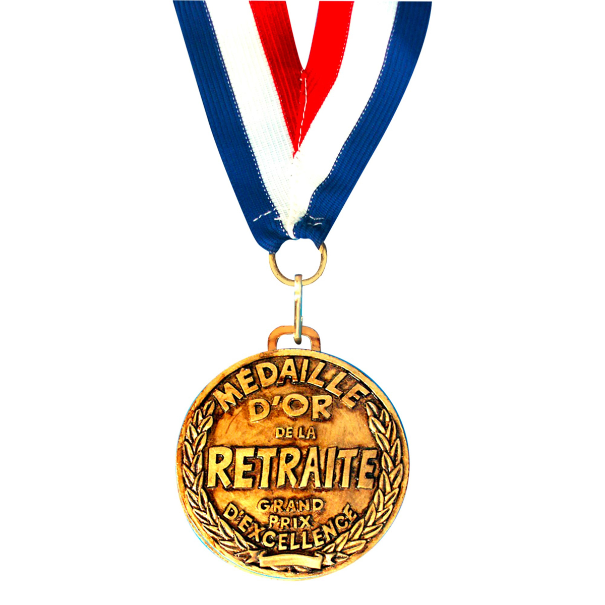Médaille d\'or \'Retraite\' - 7 cm - [I8132]
